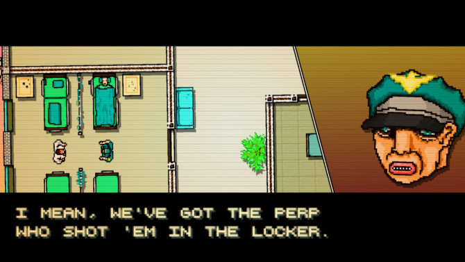 Hotline Miami : Hopital
