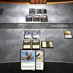 Magic duels : l'interface