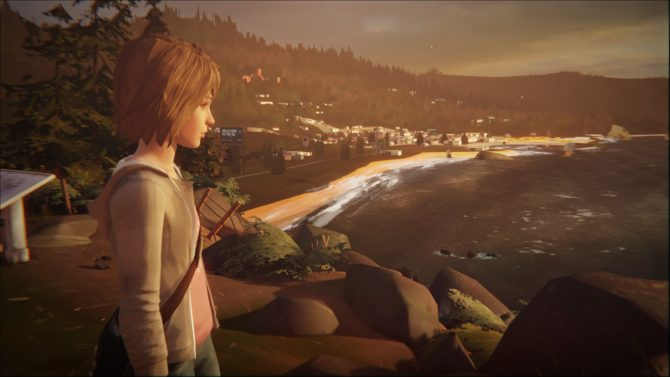Life is Strange : Vue du phare de Arcadia Bay