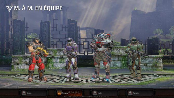 Première impressions sur Quake Champions