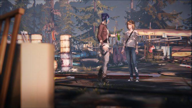 Life is Strange : Max et Chloe dans la décharge